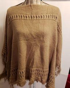 Charlotte Daniel Sweater Poncho